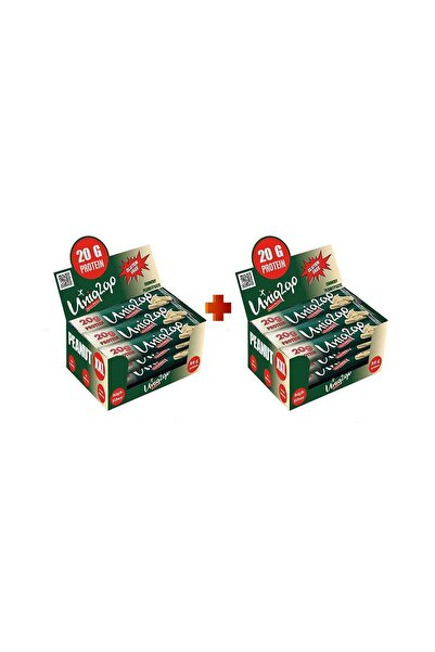 Peanut Xxl - Fıstık Ezmeli Xxl Proteinli Bar 12li Kutu X2 Kutu (24 Adet)