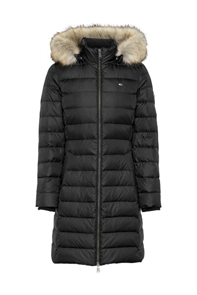 Kadın Mont Tjw Essentıal Hooded Down Coat DW0DW09060