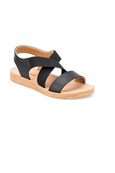 91.150787CZ Siyah Kadın Sandalet 100374986