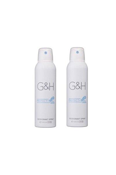 G&h Protect+ 200 ml Unisex Deodorant Spray 2'li Set
