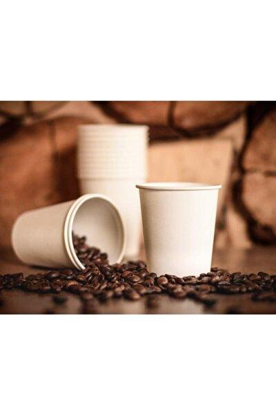 7 Oz Karton Kağıt Bardak Baskısız Beyaz Çay Kahve Bardağı 50 Adet