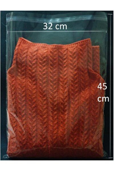 Şeffaf Yapışkanlı Poşet - Opp Kendinden Yapışkanlı Jelatin Parlak Poşet 32x45cm - 100 Adet