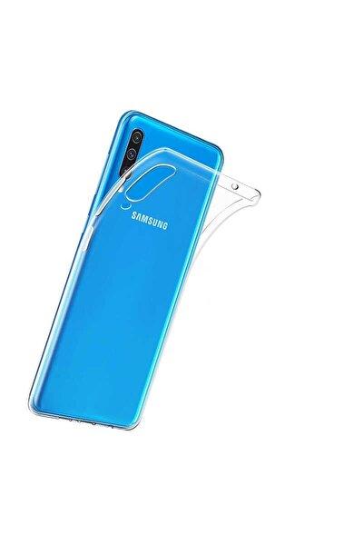Galaxy A50 Kılıf Şeffaf Ince Ve Esnek Mükemmel Kalıp