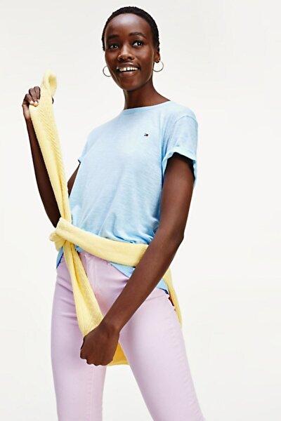 Kadın Bebe Mavisi Vıkkı Round-nk Top Ss T-Shirt  Ww0ww27906