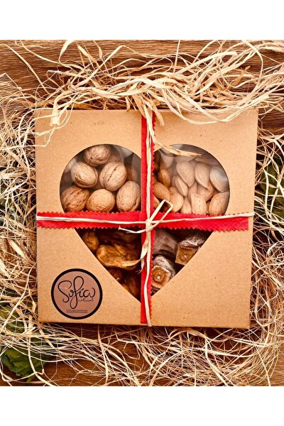 14 Şubat'a Ozel Sağlıklı Atıştırmalıklar Paketı 850 Gr.