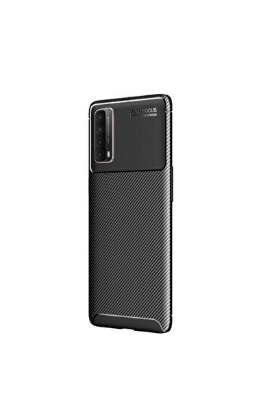 Teleplus P Smart 2021 Kılıf Negro Carbon Silicone Siyah