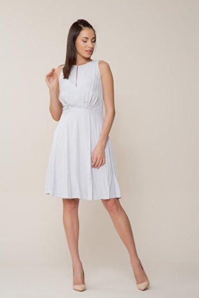Kadın Gri Mini Elbise M18YEW1641XUC