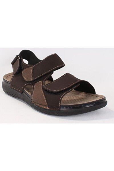 160254.M Kahverengi Erkek Sandalet 100501001
