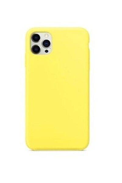 Iphone 12 Pro Max Uyumlu  Içi Kadife Lansman Silikon Kılıf