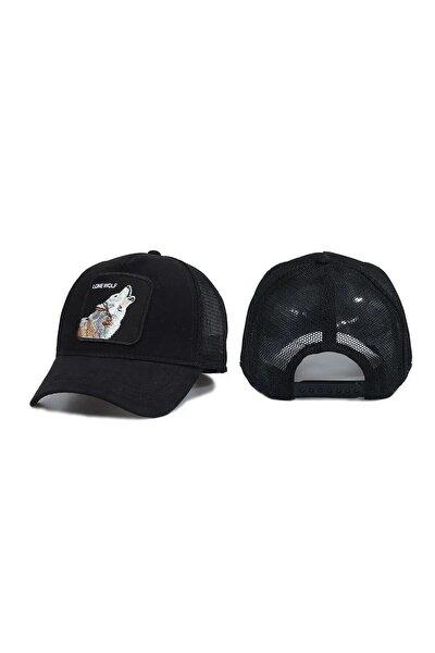 Hayvan Desenli Kurt Model Şapka