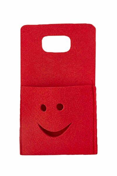 Keçe Cep Telefonu Tutacağı Priz Şarj Askısı Pratik Telefon Şarj Cebi Askılık