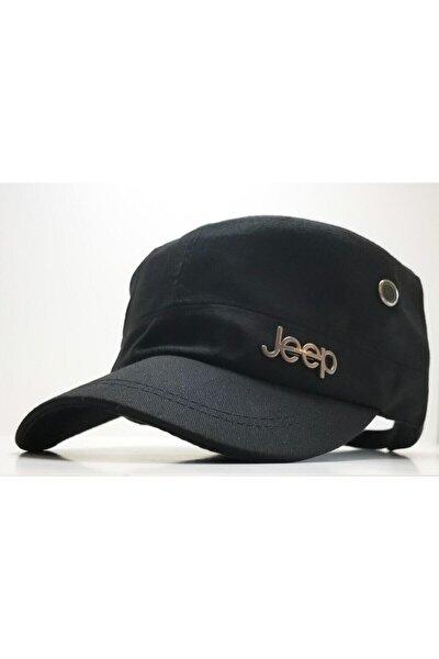 Unisex Siyah Jeep Model Castro Tarzı Şapka