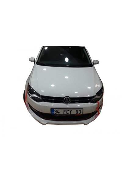 Volkswagen Polo 6r Serisi (2009-2014) Rieger Ön Tampon Ek (plastik)