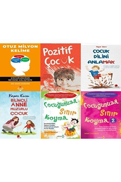 Otuz Milyon Kelime,pozitif Çocuk, Çocuk Dilini Anlamak, Bilinçli Anne ,sınır Koyma 1-2(6 Kitap Set)