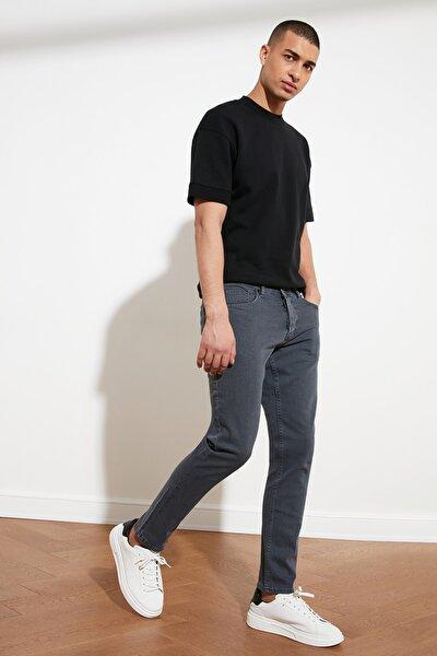 Gri Erkek Slim Fit Jeans TMNSS21JE0068