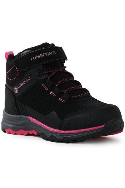 Kız Çocuk Siyah Boğazlı Spor Ayakkabı