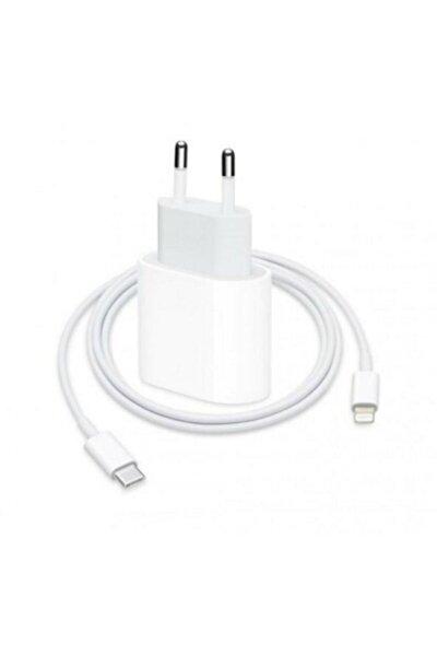 Iphone Uyumlu 11/11 Pro Max- 12/12 Pro Hızlı Şarj Aleti Set 20w Adaptör + Usb C 1m Kablo