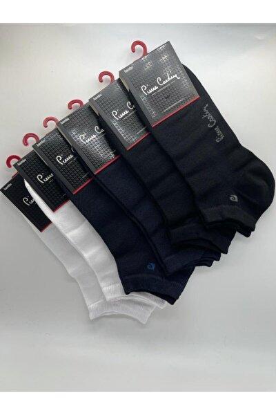 Erkek 6'lı Paket Karışık Renk Bambu Patik Çorap Fua Shop