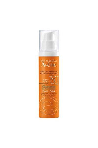 Yağlı Ve Akneli Ciltler Renkli Güneş Kremi Cleanance Solaire Spf 50+ 50 ml