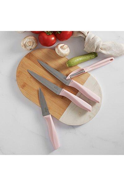 Peel Pink 4 Parça Bıçak Seti