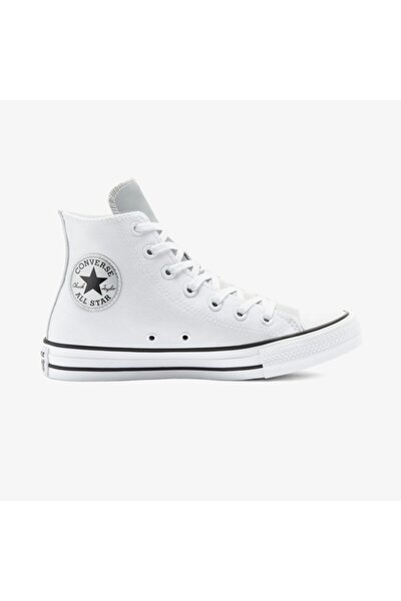 Kadın Beyaz Chuck Taylor All Star Mono Metal Hi  Sneaker