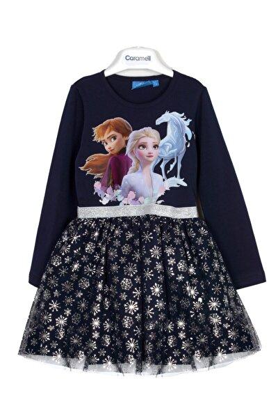 Elsa Kız Çocuk Elbise