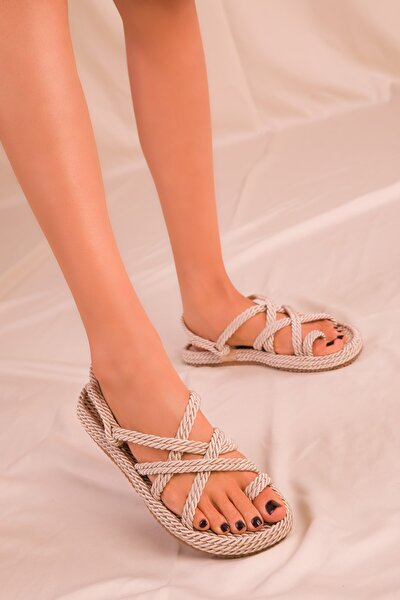Ten Kadın Sandalet 14737