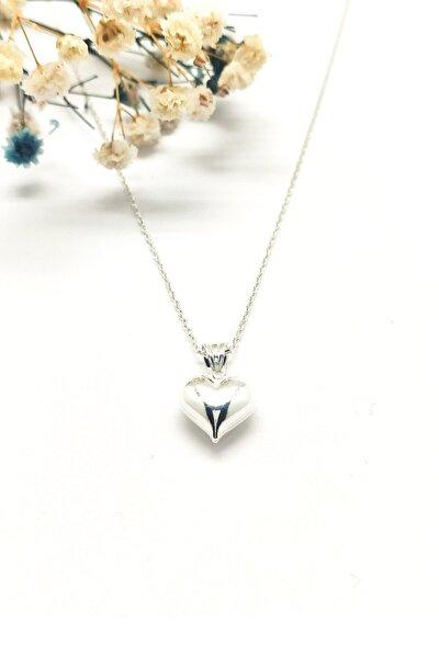 Kalp Figürlü Gümüş Kolye