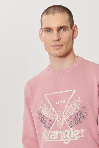 Regular Fit Bol Kesim %100 Koton Grafik Desenli Spor Sweatshirt