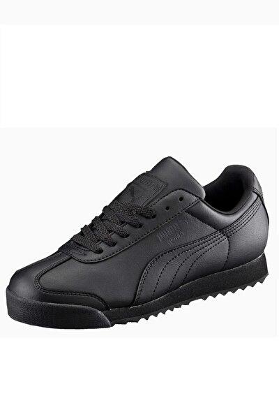 Puma ROMA BASIC JR Siyah Erkek Çocuk Sneaker 100222600