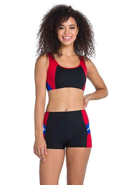 Kadın Siyah Yüzücü Bikini Takımı