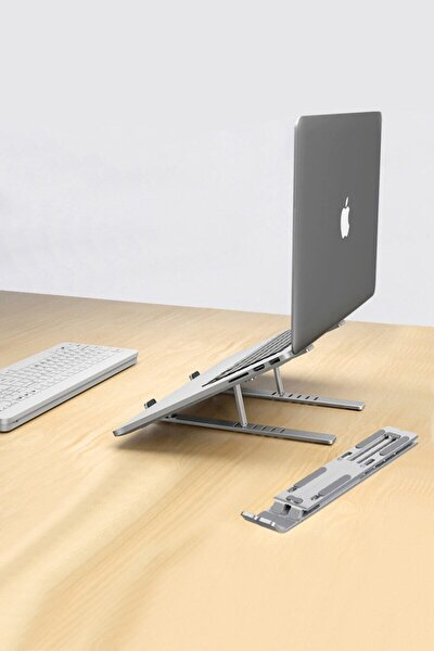 Aliminyum Ayarlı Laptop Macbook Notebook Yükseltici Tutucu Cin271