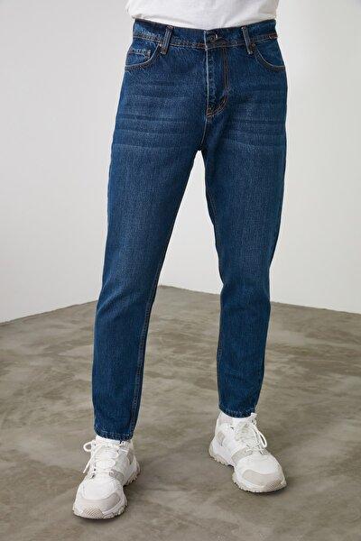Lacivert Erkek Relax Fit Jeans TMNSS20JE0519