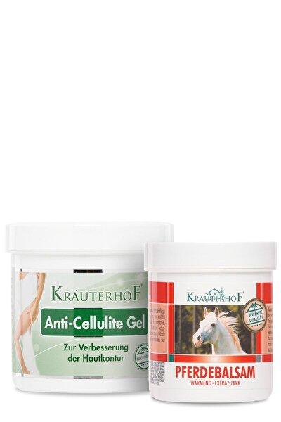 Anti Cellulite Gel 250 ml+ Isıtıcı Masaj Jeli 100 ml
