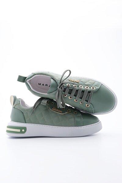 Kadın Yeşil Sneaker Spor Ayakkabı Uykez