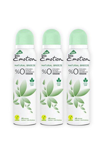Natural Breeze Deodorant 3x150ml