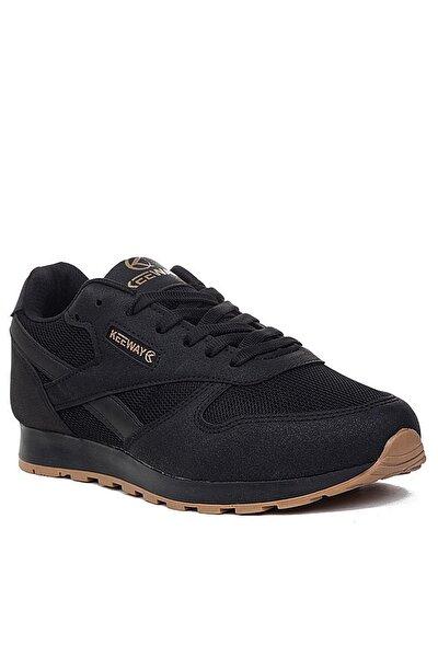 Unisex Siyah Spor Ayakkabı Kw853201