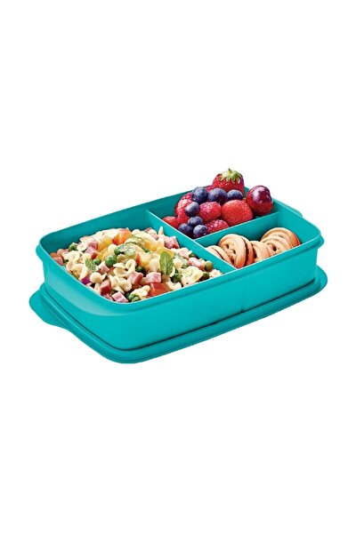 Bölmeli Beslenme Kutusu 1 Litre Yeşil