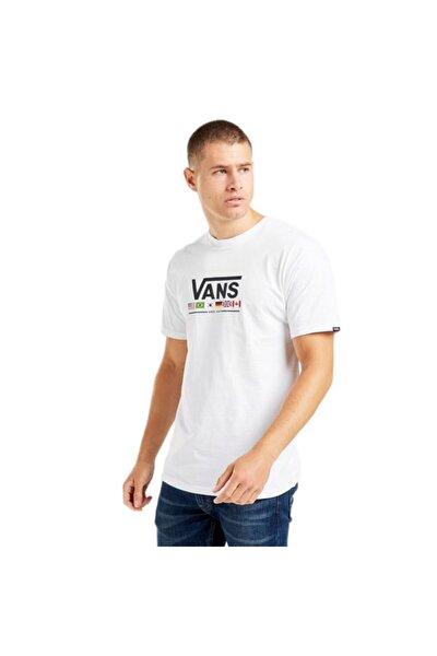 Erkek Beyaz Flag T-shirt