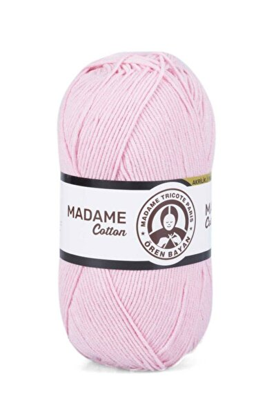 Pembe Madame Cotton El Örgü İpi  033