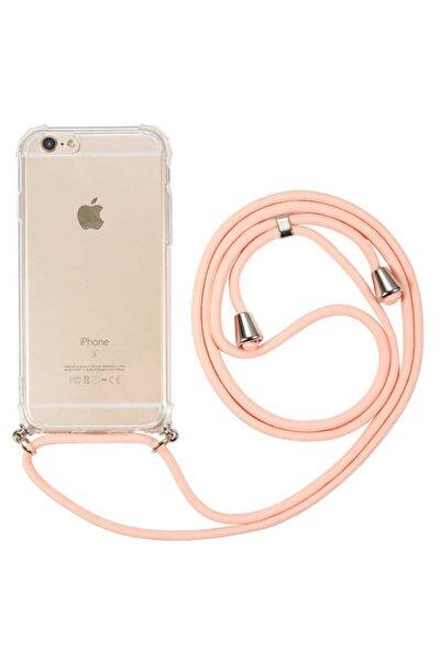 Iphone 8 Plus Uyumlu Kılıf X-rop Kapak Boyun Askısı Ipli