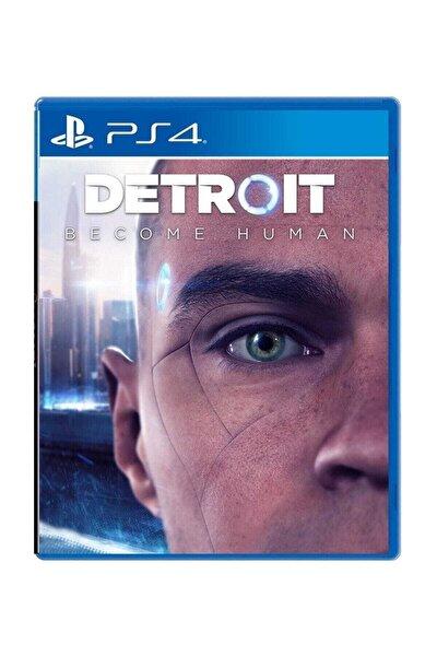 Detroit Become Human Ps4 Oyun - Türkçe Menü