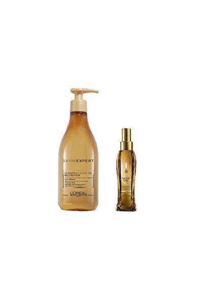 Serie Expert Nemlendirici Şampuan Ve Bakım Yağı Seti