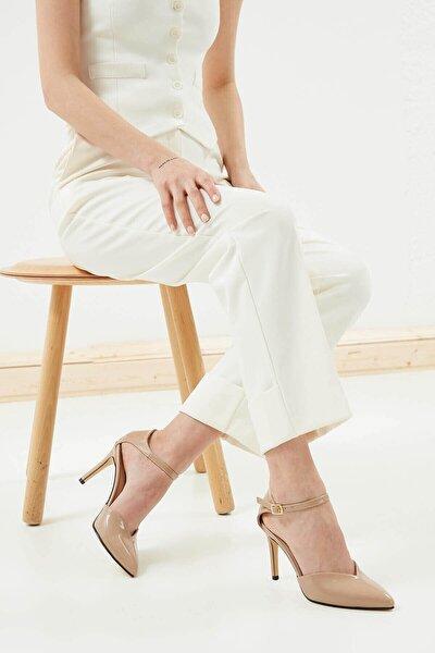 Kadın Ten Peggy Rugan Topuklu Ayakkabı