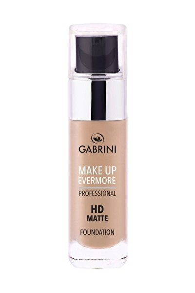 Mat Fondöten Professional Hd Matte Foundation 1