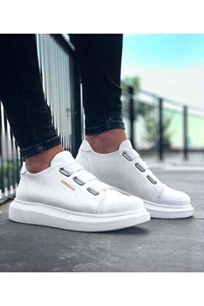 Erkek Beyaz Günlük Ayakkabı