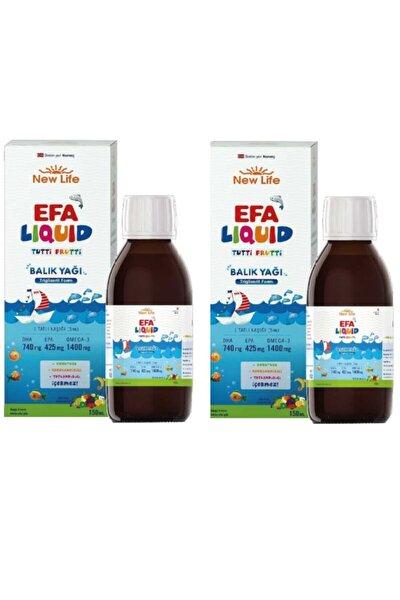 Efa Liquid Tutti Frutti 150 ml 2' Li Paket