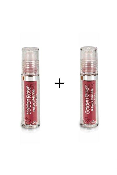 Meyveli Dudak Parlatıcısı Roll On Lipgloss Çilek 2 Adet