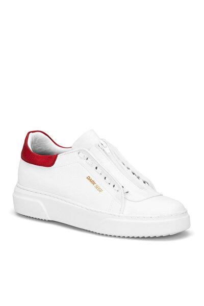 Beyaz Kırmızı Erkek Günlük Ayakkabı