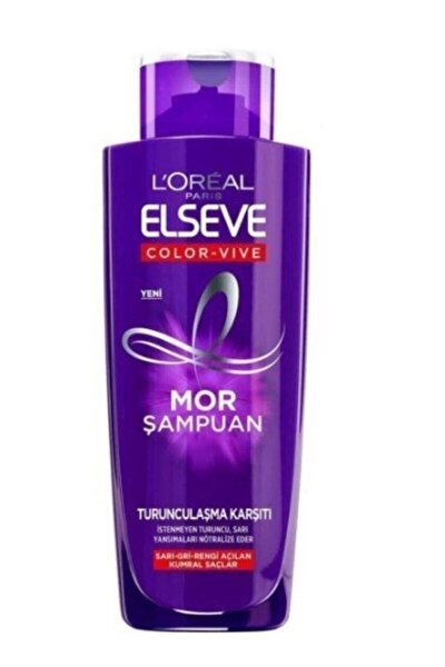 Turunculaşma Karşıtı Mor Şampuan 200ml
